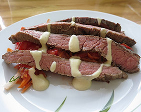 Flank steak Sous-Vide